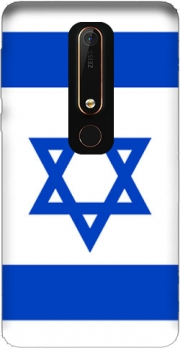 Flag Israel Case for Nokia 6.1