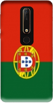 Flag Portugal Case for Nokia 6.1