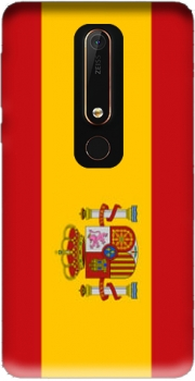 Flag Spain Case for Nokia 6.1
