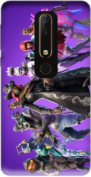 fortnite Season 6 Pet Companions Case for Nokia 6.1