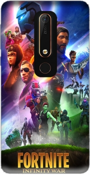 Fortnite Skin Omega Infinity War Case for Nokia 6.1