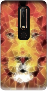 fractal lion Case for Nokia 6.1