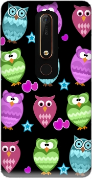 funky owls Case for Nokia 6.1