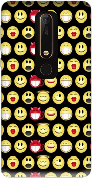 funny smileys Case for Nokia 6.1