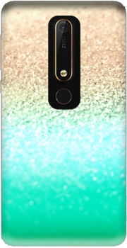 GATSBY AQUA GOLD Case for Nokia 6.1