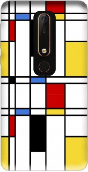 Geometric abstract Case for Nokia 6.1