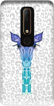 Giraffe Purple Case for Nokia 6.1