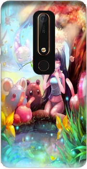 Manga charmer girl Case for Nokia 6.1