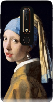 Girl with a Pearl Earring Case for Nokia 6.1