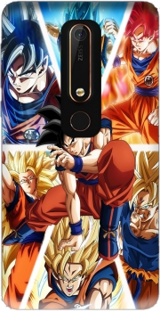 Goku Ultra Instinct Case for Nokia 6.1
