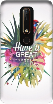 Great Summer (Watercolor) Case for Nokia 6.1