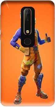 Hamburger Fortnite skins Beef Boss Case for Nokia 6.1