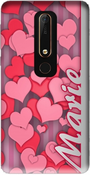 Heart Love - Marie Case for Nokia 6.1