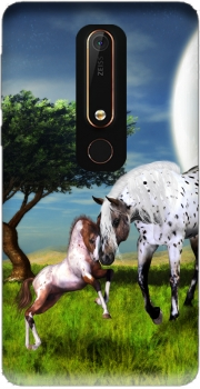 Horses Love Forever Case for Nokia 6.1
