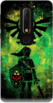 Hyrule Art Case for Nokia 6.1