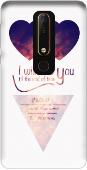 I will love you Case for Nokia 6.1