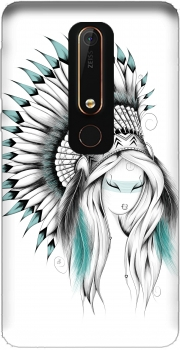 Indian Headdress Nokia 6.1 Case