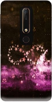 Infinity Stars purple Case for Nokia 6.1