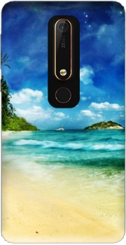 Paradise Island Case for Nokia 6.1