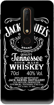 Jack Daniels Fan Design Case for Nokia 6.1