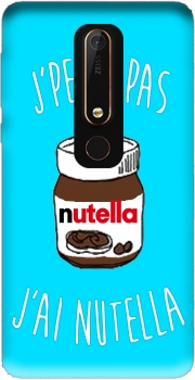 Je peux pas jai nutella Case for Nokia 6.1