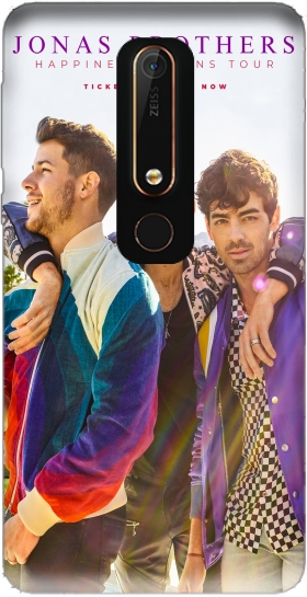 Case Jonas Brothers for Nokia 6.1