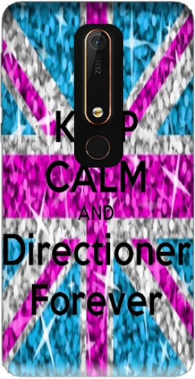 Case Keep Calm And Directioner forever for Nokia 6.1