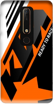 KTM Racing Orange And Black Case for Nokia 6.1