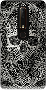 Lace Skull Case for Nokia 6.1