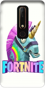 Unicorn video games Fortnite Case for Nokia 6.1