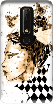 Miss Dee Sepia Case for Nokia 6.1