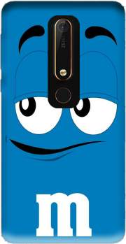 M&M's Blue Case for Nokia 6.1