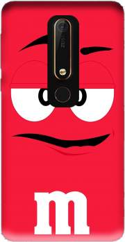 M&M's Red Case for Nokia 6.1