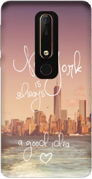 Always New York Case for Nokia 6.1