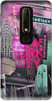 New York City II [pink] Case for Nokia 6.1