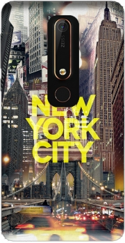 New York City II [yellow] Case for Nokia 6.1