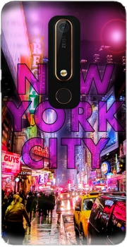 New York City - Broadway Color Case for Nokia 6.1