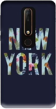 New York Floral Case for Nokia 6.1