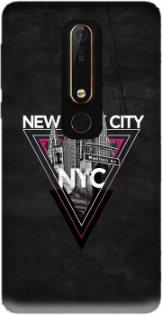 NYC V [pink] Case for Nokia 6.1