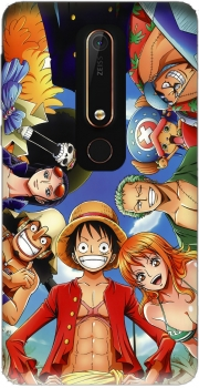 One Piece CREW Case for Nokia 6.1