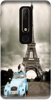 Eiffel Tower Paris So Romantique Case for Nokia 6.1