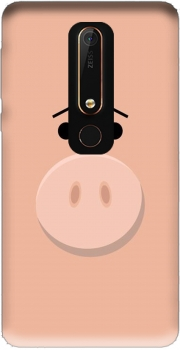 Pig Face Nokia 6.1 Case