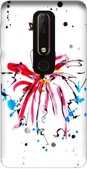 Pink Fashion Girl Case for Nokia 6.1