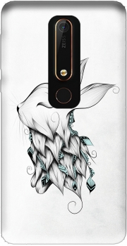Poetic Rabbit  Nokia 6.1 Case