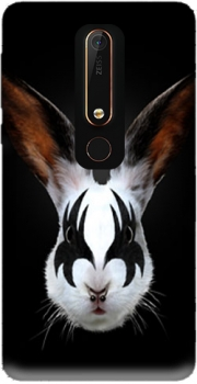 Kiss of a rabbit punk Case for Nokia 6.1