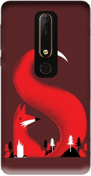 S like Fox Case for Nokia 6.1