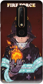 Shinra kusakabe fire force Nokia 6.1 Case