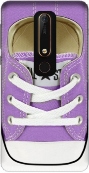 All Star Basket shoes purple Case for Nokia 6.1