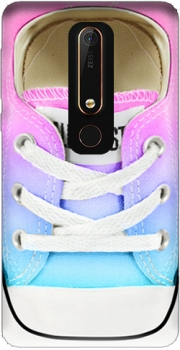 All Star Basket shoes rainbow Case for Nokia 6.1