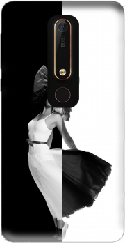 Sia Black And White Nokia 6.1 Case